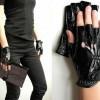 Женские перчатки без пальцев