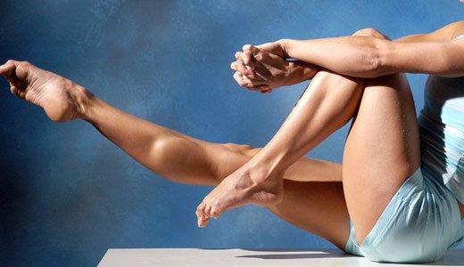Как накачать худые ноги?