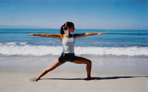 Поза воина: йога