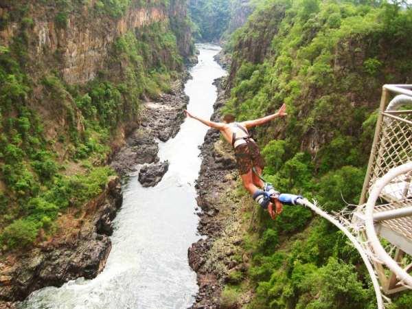 Банджи-джампинг, джиббинг и другие экстремальные виды отдыха